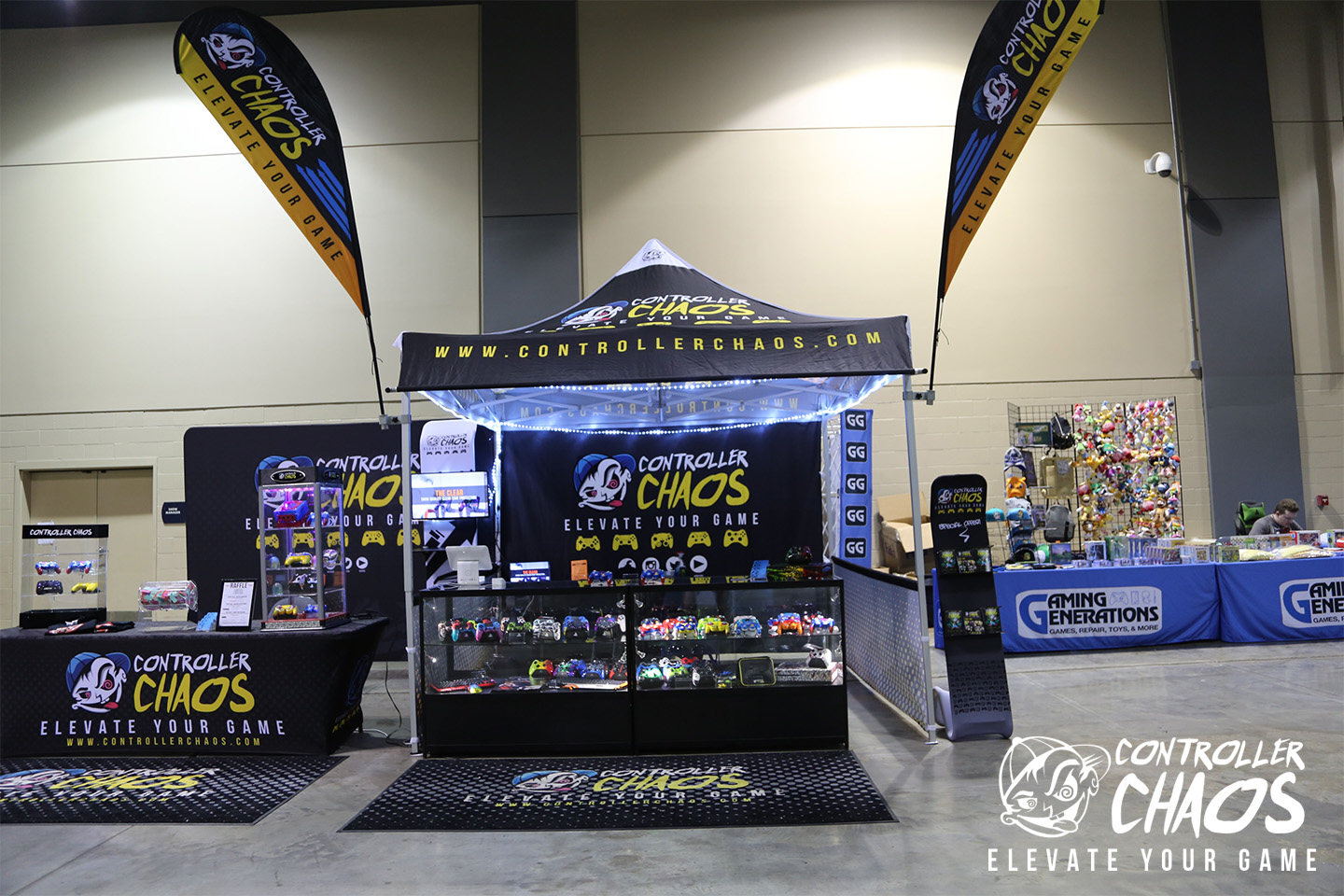 CHAOS EVENT BOOTH