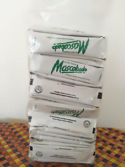 Mascobado in Sachets (100 pcs. 5grams sachets/pack)