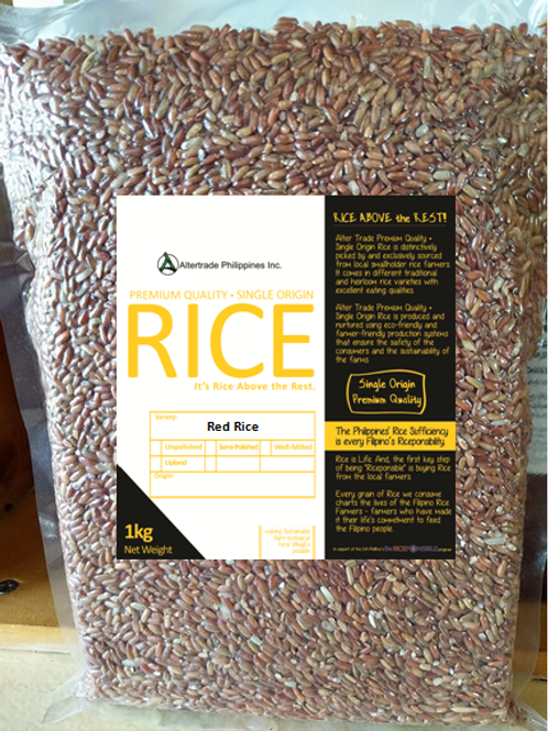 (Unpolished) Traditional Red Rice Variety