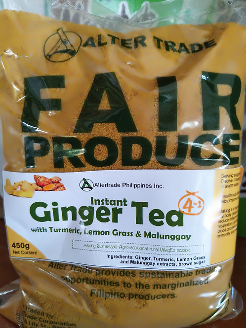 Ginger Tea with Turmeric, Lemons Grass and Malunggay (4in1)