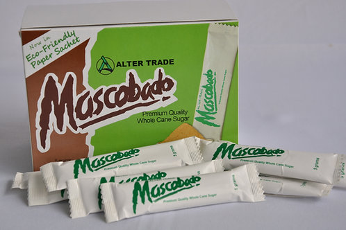 Mascobado in Sachets (50 pcs. 5grams sachets / Box)