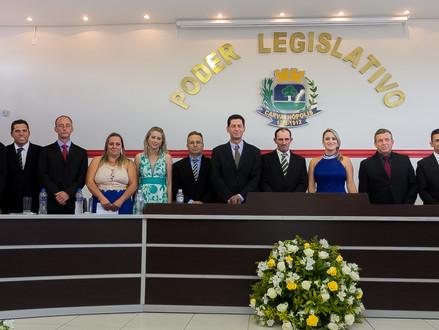 Câmara Empossa Vereadores, Prefeito e Vice-Prefeito para Legislatura 2017-2020