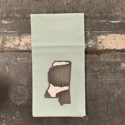 Mississippi Tea Towel