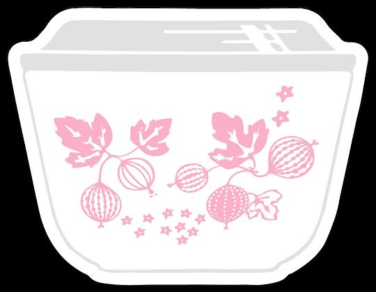 Pink Gooseberry Inspired Magnet