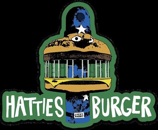 Hattiesburger Hamburger Sticker