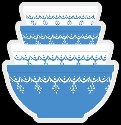 Snowflake Garland Inspired Stickers