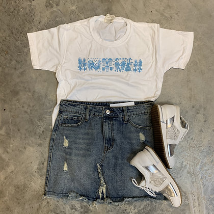 Comfort Colors Amish Butterprint Inspired Tee