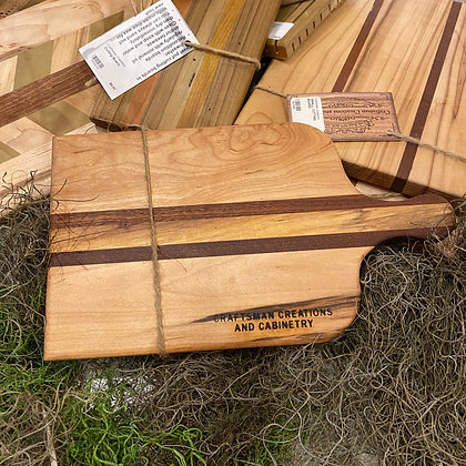 Craftsman Creations Locally Made Cutting Board