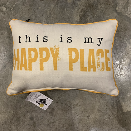 This is my Happy Place -Mississippi Made Pillow