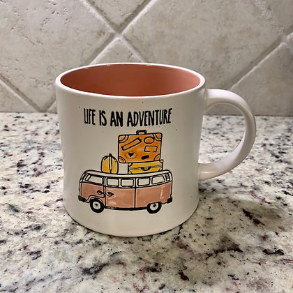Life is An Adventure VW Bus Mug