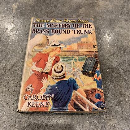 1950s Nancy Drew Book With Dust Jacket