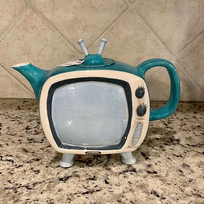 Vintage TV Teapot