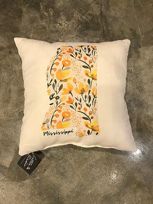 Pillow - Mustard Floral