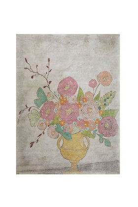 Decorator Paper with Flowers in Vase DF0978