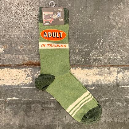 Adult In Training Men's Socks