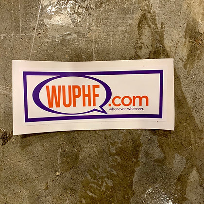 WUPHF The Office Sticker