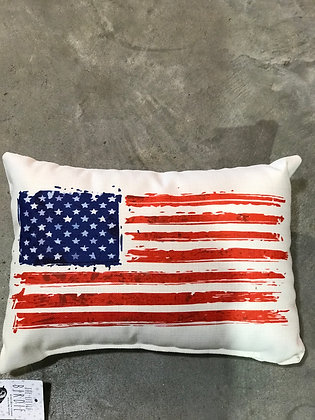 Pillow - American Flag - Made in MS