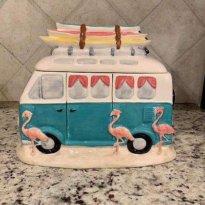 VW Bus Cookie Jar