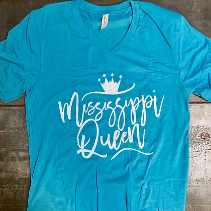 Mississippi Queen Bella Canvas V-Neck Tee