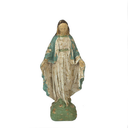 Resin Reproduction of Vintage Mary Statue DE1349