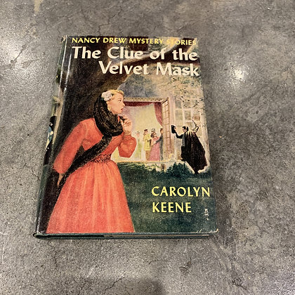 1950s Nancy Drew Book With Dust Jacket