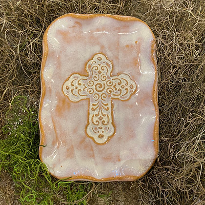 Small Cross Plate