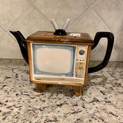 Television Teapot