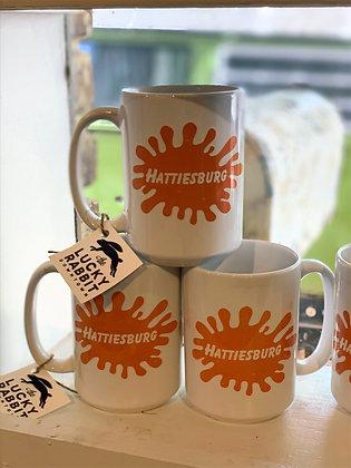 Hattiesburg Splat Mug