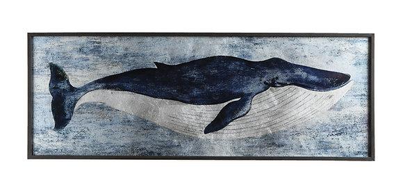 Blue Whale Wood Wall Décor DA8320