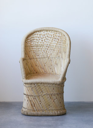 Handwoven Bamboo & Rope Chair DA9054