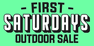 First Saturdays Outdoor Sale Lucky Rabbit