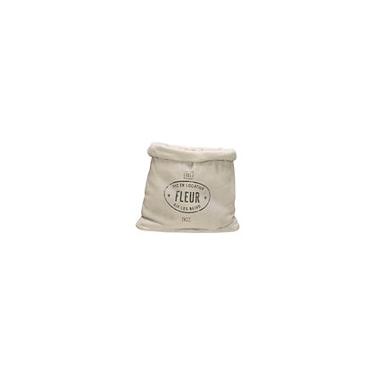 Small Feed Sack Shaped Cement Planter DF1943