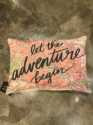 Pillow - Let the adventure begin