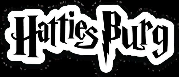 Small Hattiesburg Potter Sticker