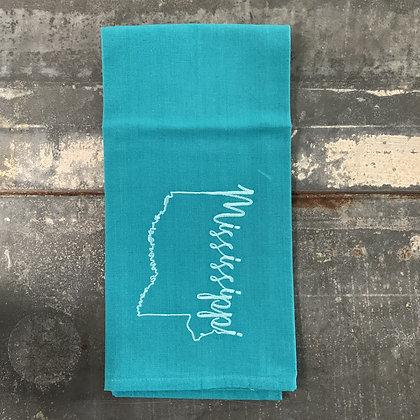 Mississippi Made Tea Towel