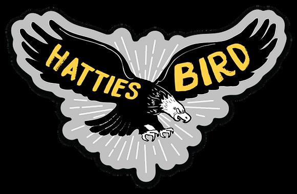 Hattiesbird Sticker