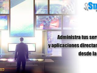 Administra tus servicios y aplicaciones.