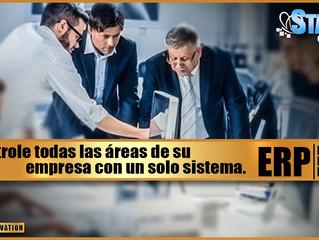 """Controle todas las áreas de su empresa con un solo sistema. """"ERP"""""""