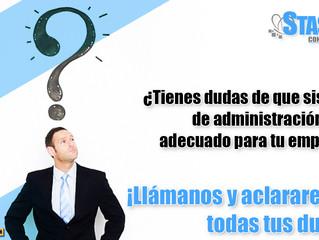 ¿Tienes dudas de que sistema de administración es el adecuado para tu empresa?