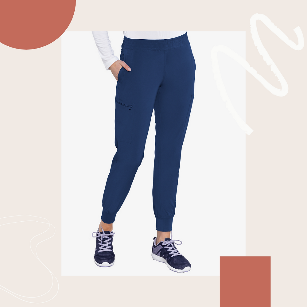 Med Couture Energy Smocked Waist Jogger