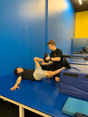 Saleem Baltaji (SCI) is working with our specialist Nathan Smeester.