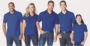 Group Polos and Button-Ups