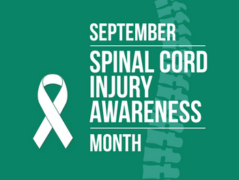 September: Spinal Cord Injury Awareness Month