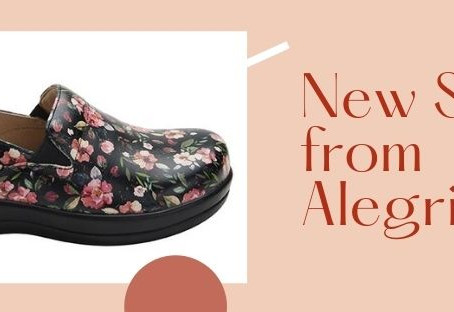 New Styles from Alegria