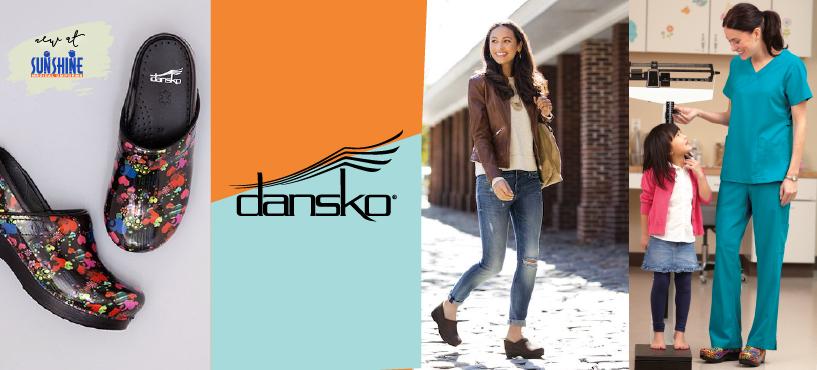 Dansko Shoes now at Sunshine Medical Uniforms