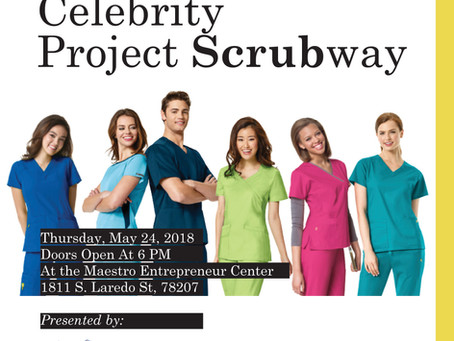 Join us 5/24 for Celebrity Project Scrubway!