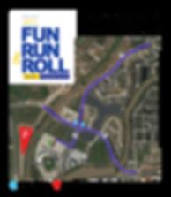 2018 Project Walk Fun Run & Roll Course Map