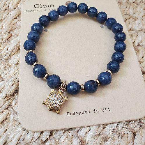 Blue Turtle Bracelet