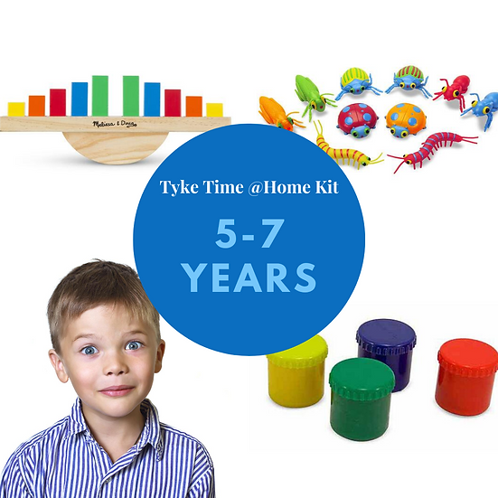 Tyke Time @ Home Kit - Age: 5-7 Years