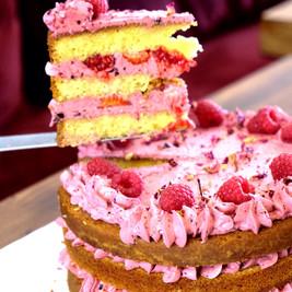 Layer cake framboise